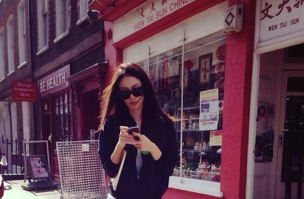 Actress Claudia Kim in London for Avengers sequel