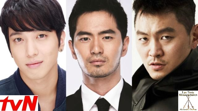 tvN sets The Three Musketeers remake in 17th century Korea