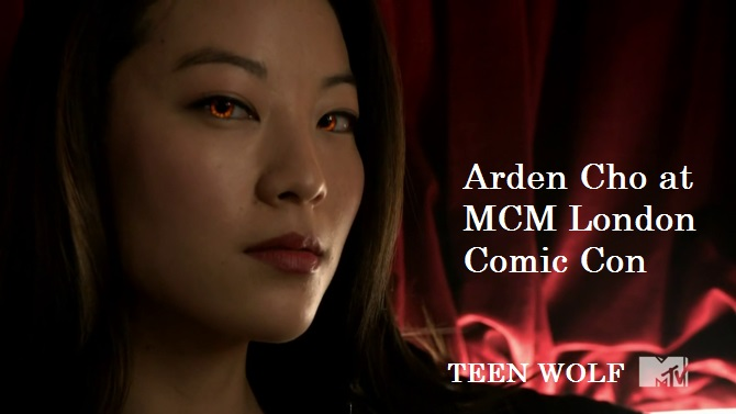 Korean-American actress Arden Cho to appear at MCM London Comic Con