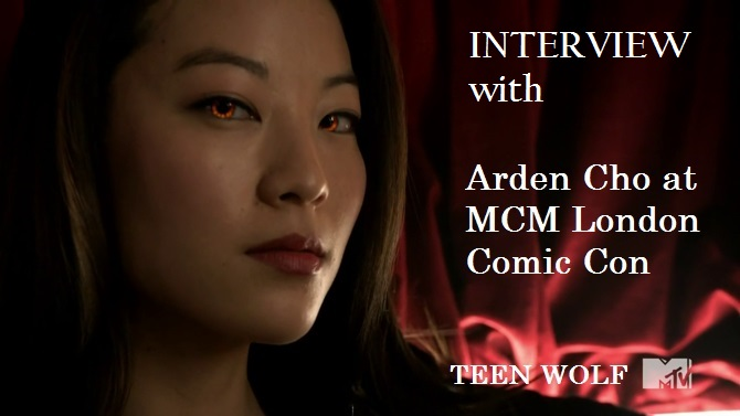Interview with Teen Wolf's Arden Cho at the MCM London Comic Con