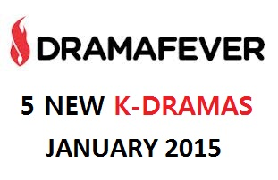 Korean Dramas Available on DramaFever – January 2015