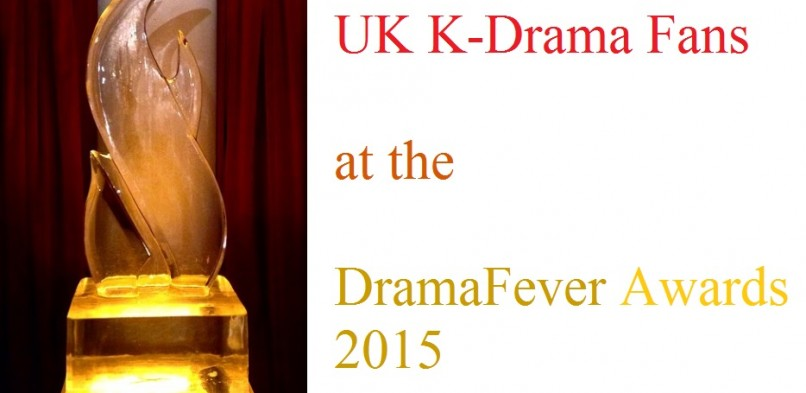 UK fans at the DramaFever Awards 2015