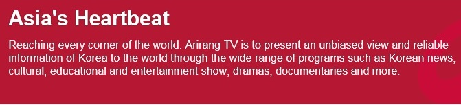 Arirang TV to be the first Korean channel on British satellite platforms