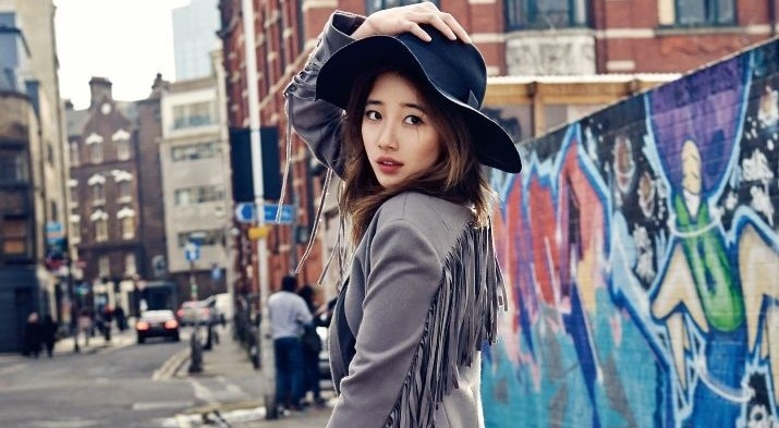 Suzy in London: Real Miss A & Cosmopolitan Photoshoot