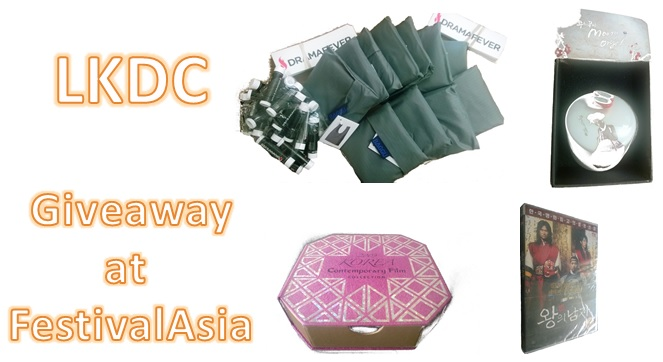 London Korean Drama Club's FestivalAsia exclusive giveaway!