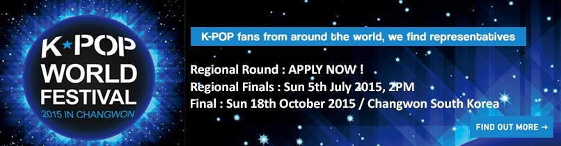 To perform at the 2015 K-Pop World Festival: UK Finals are…