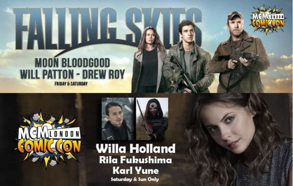 MCM London Comic Con: KoreAm actors Karl Yune & Moon Bloodgood to attend!