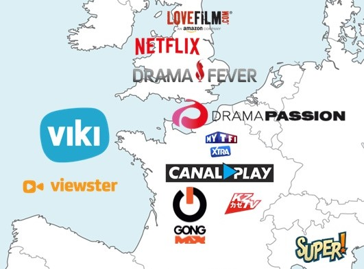 Kdramas around the World: Western Europe