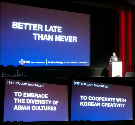 UK Korea Creative Forum 2016 - Hwang Jinwoo Presentation